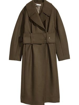 Пальто цвета хаки | 5465764