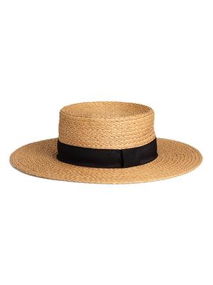 Шляпа бежевая | 5465986