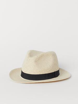 Шляпа бежевая | 5466115