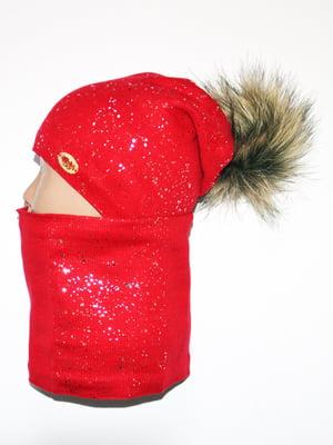 Комплект: шапка і шарф-снуд   5284786