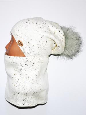 Комплект: шапка і шарф-снуд   5284787