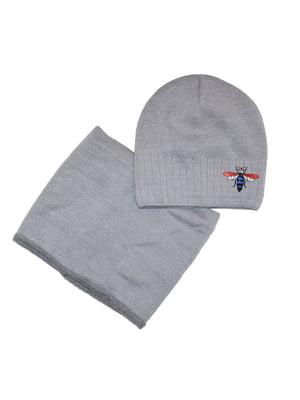 Комплект: шапка і шарф | 5291639