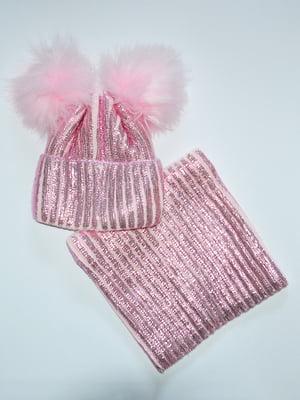 Комплект: шапка і шарф-снуд   5316128