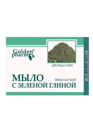 Мыло с зеленой глиной (70 г) - Голден-Фарм - 5471728
