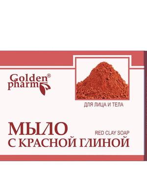 Мыло с красной глиной (70 г) - Голден-Фарм - 5471729