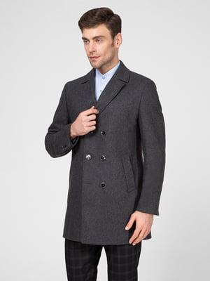 Пальто сіре   5467402