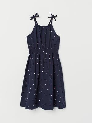 Сукня синя в горошок   5471829