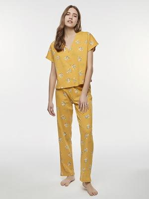 Пижама: футболка и брюки | 5384489