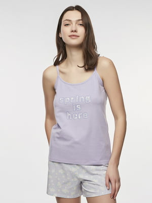 Пижама: майка и шорты | 5444821