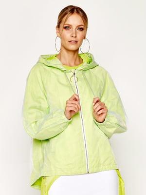 Куртка салатового кольору | 5466237