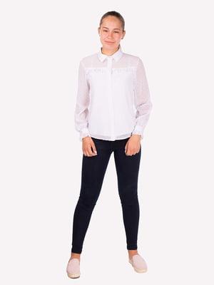 Блуза белая   5472337