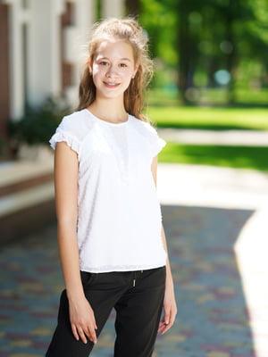 Блуза белая   5472355