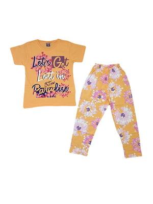 Піжама: футболка і штани | 5472576