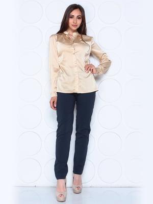 Блуза цвета мокко   5447274