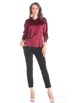 Блуза сливового цвета   5436554