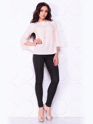 Блуза кольору пудри | 5447335