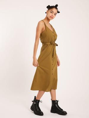 Сукня гірчичного кольору   5473178