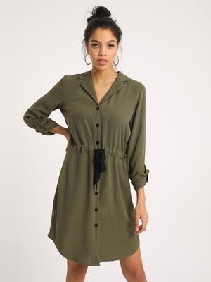 Сукня оливкового кольору   5473182