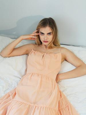 Сукня персикового кольору | 5473177