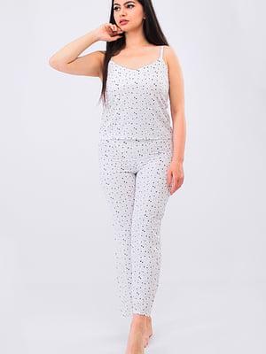 Пижама: топ и брюки | 5473445