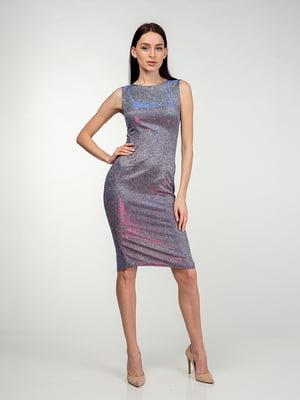Сукня бузкова з переливом | 5473369