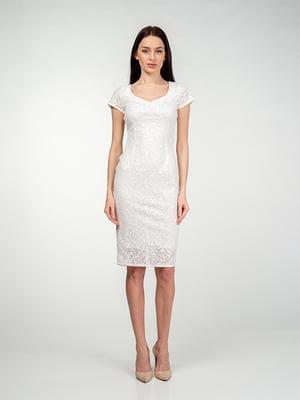 Сукня молочного кольору | 5473395