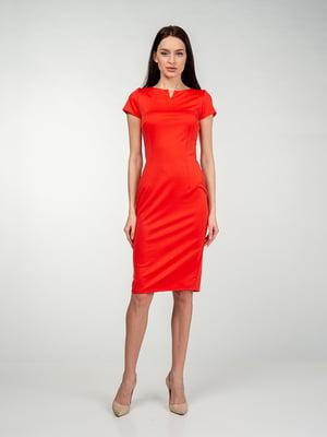 Сукня кольору мандарину | 5473422