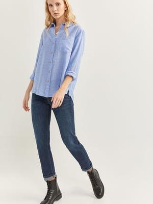 Рубашка голубая | 5474399