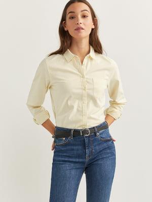 Рубашка желтая | 5474394
