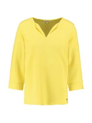 Блуза лимонного кольору | 5474936