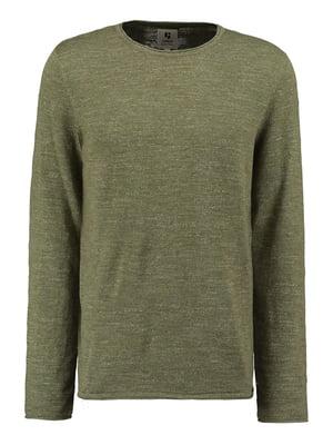 Джемпер коричнево-болотного цвета | 5474959