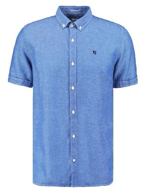 Рубашка синяя | 5475018