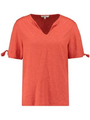 Блуза цвета охры | 5475031