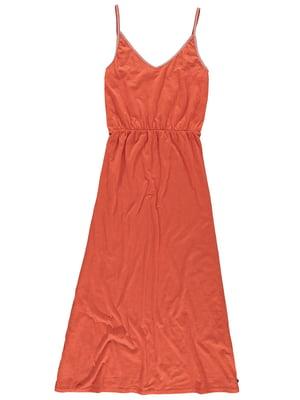 Сукня кольору охри | 5475033