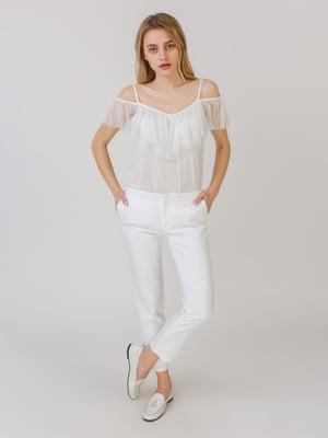 Штани білі | 5464574