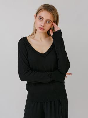 Пуловер чорний | 5464557