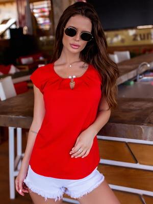 Блуза червона | 5475160
