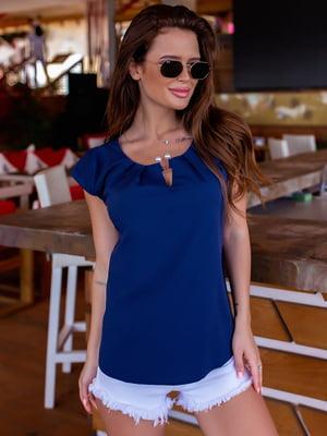 Блуза синя | 5475161