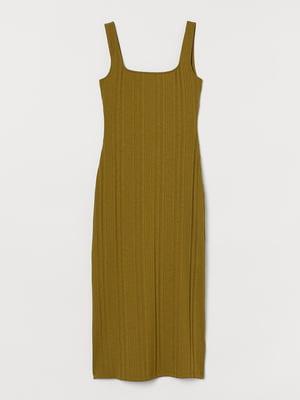 Сукня оливкового кольору   5475413