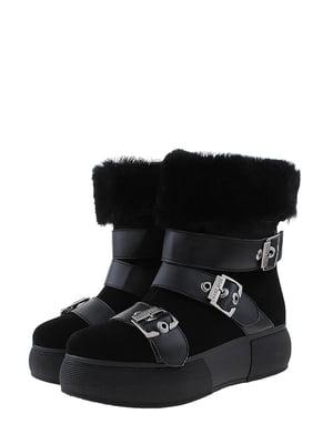 Ботинки черные   5462230