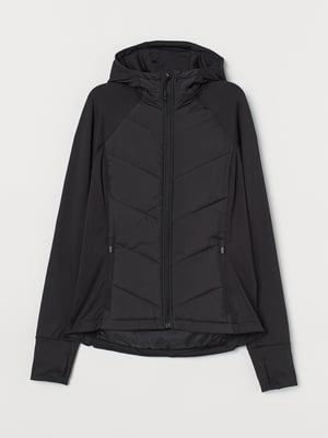 Куртка спортивна чорна | 5475556