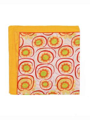 Бандана помаранчева в принт | 5475796