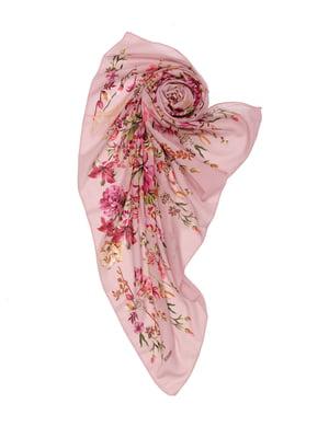 Хустка рожева в принт   5475823