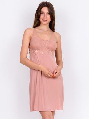 Сорочка нічна рожева  | 5475668