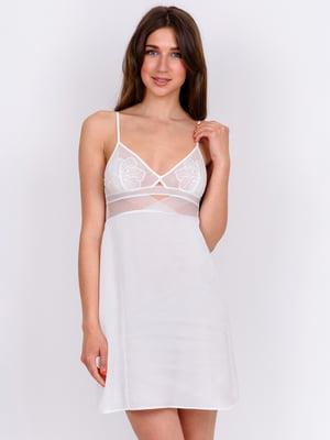 Сорочка нічна біла | 5475673
