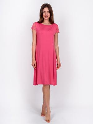 Сорочка нічна рожева  | 5475678