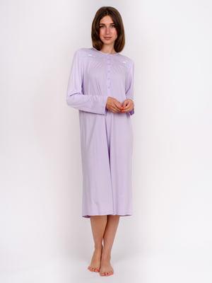 Сорочка нічна фіолетова | 5475646