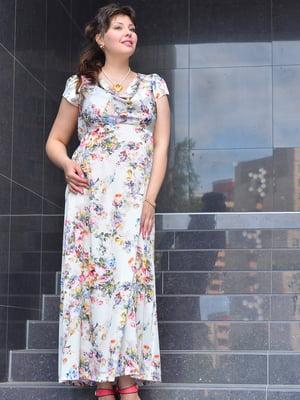 Платье в цветочный принт | 5475908