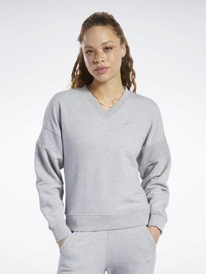Пуловер сірий | 5475852