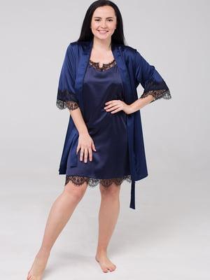 Комплект: нічна сорочка і халат | 5476523